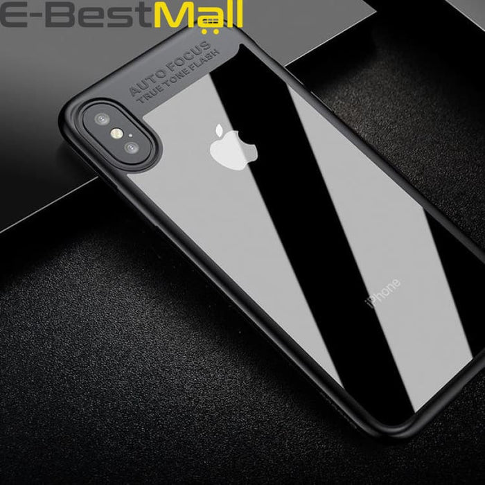 Artistical Phone Cover Case For iPhone X 10 - Black - Fitted Cases