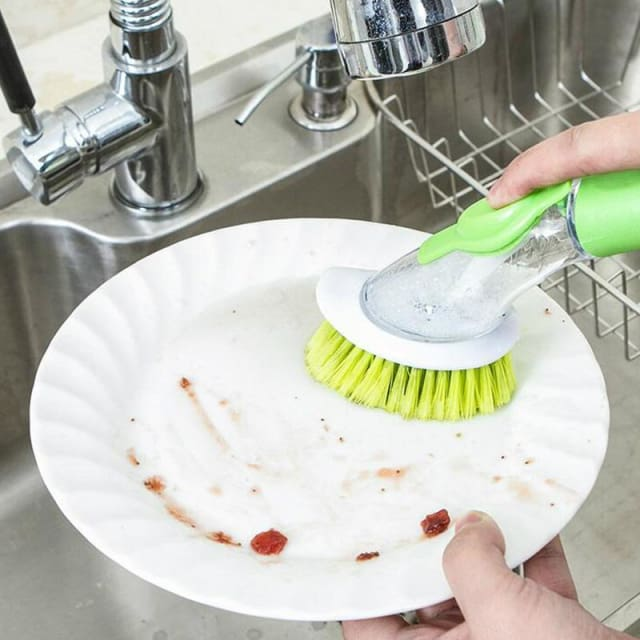 Automatic Liquid Brushless - Kitchen Cleaning Brush - Cleaning Brushes