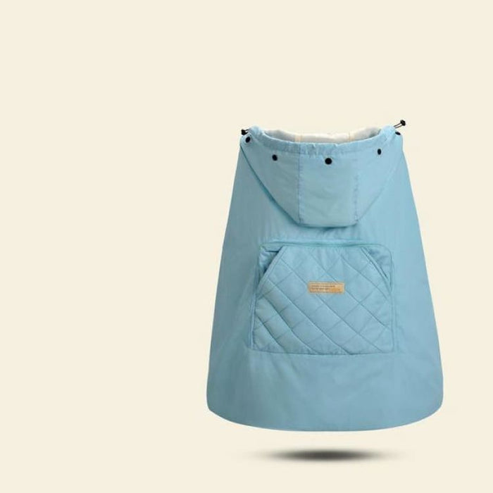 Baby Carrier Cloak Cover - light blue - Mother & Kids