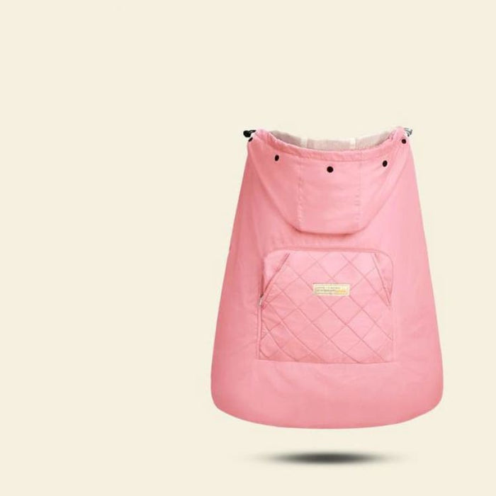 Baby Carrier Cloak Cover - pink - Mother & Kids
