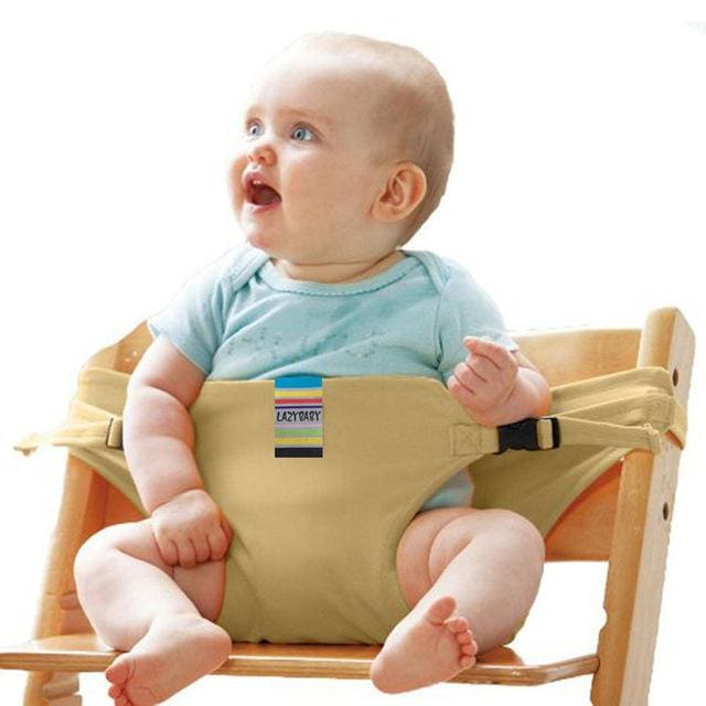 Baby chair seat belt - Beige - Child Safety Seats