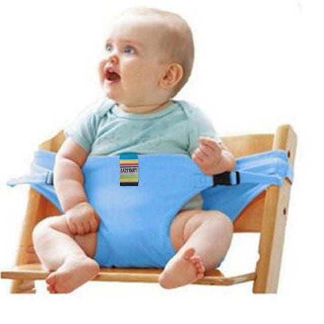 Baby chair seat belt - Blue - Child Safety Seats