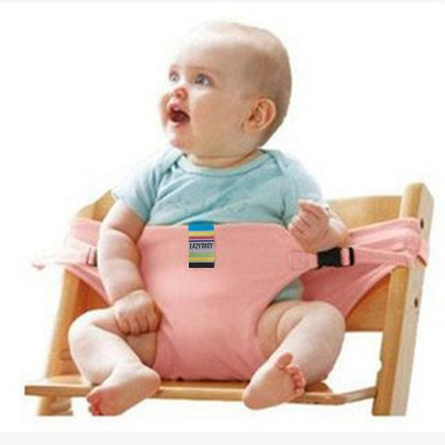 Baby chair seat belt - Pink - Child Safety Seats