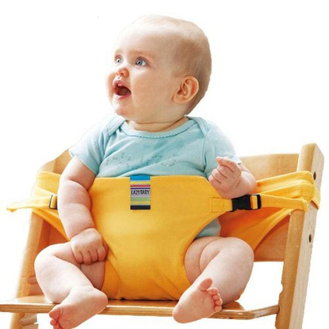 Baby chair seat belt - Yellow - Child Safety Seats