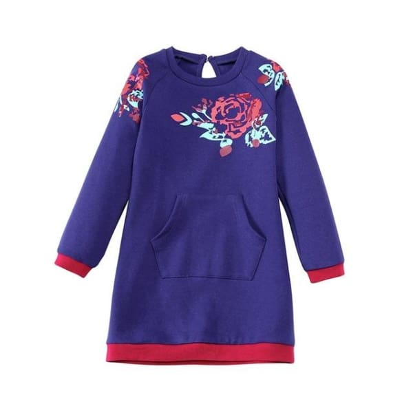 Baby Girls Winter Dress Long Sleeve - Dresses
