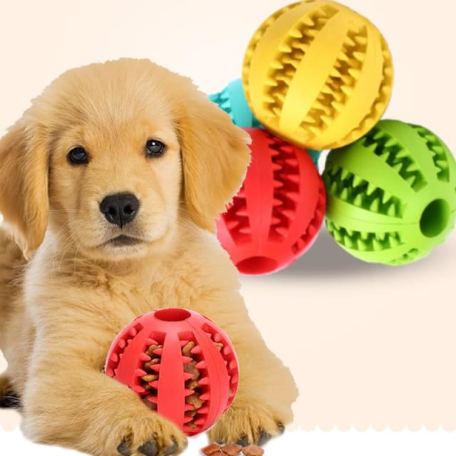 Ball Toy For Dogs Non-toxic - Resistant Teeth - Dog Toy