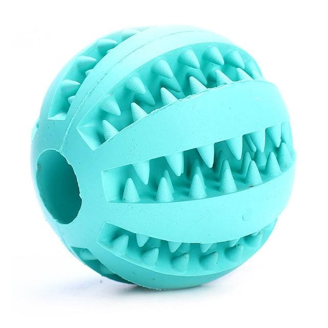 Ball Toy For Dogs Non-toxic - Resistant Teeth - Blue / 7cm - Dog Toy