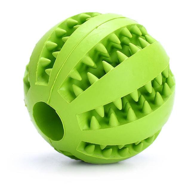 Ball Toy For Dogs Non-toxic - Resistant Teeth - Green / 7cm - Dog Toy