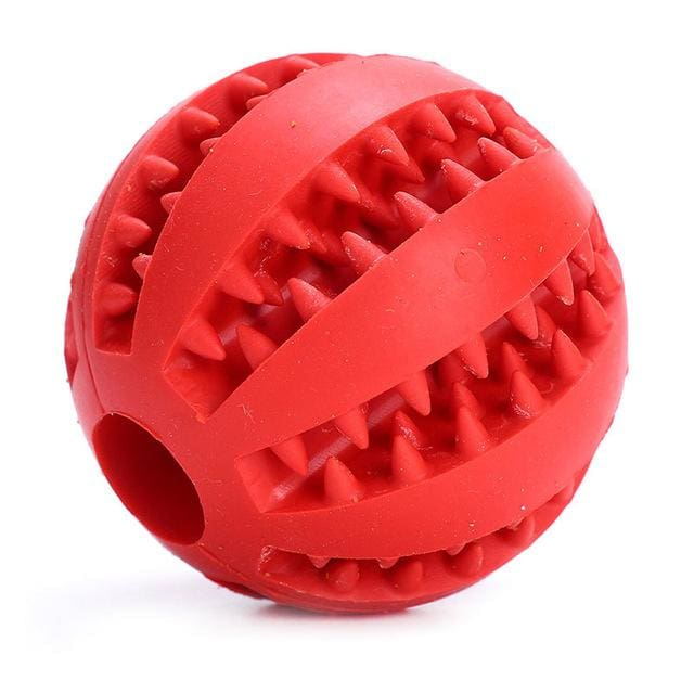 Ball Toy For Dogs Non-toxic - Resistant Teeth - Red / 7cm - Dog Toy