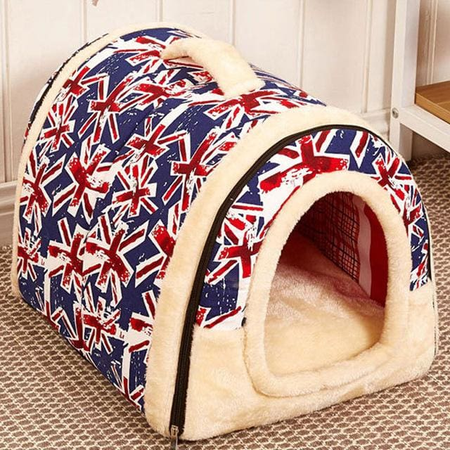 Beautiful House & Bed For Puppy Dogs Cat - 05 / S 35x30x28cm - House For Pet