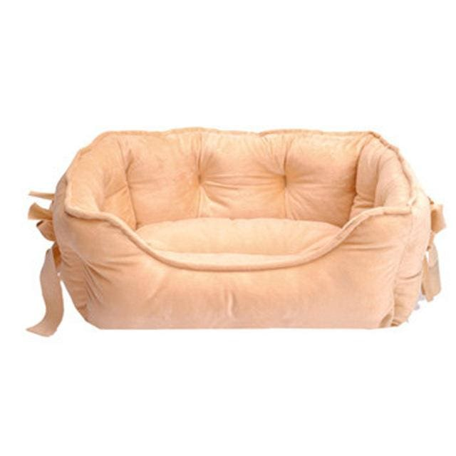 Bed sofa Cotton - Pet Dog Cat - Khaki / S 48x38x18cm - Bed sofa Pet