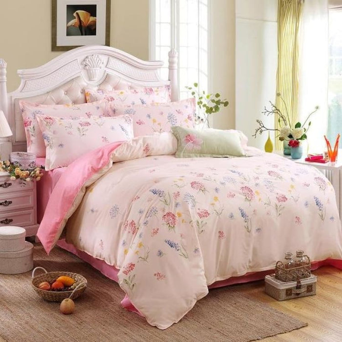 Bedding Set Korean Summer Style - freshness / Full - Bedding Sets