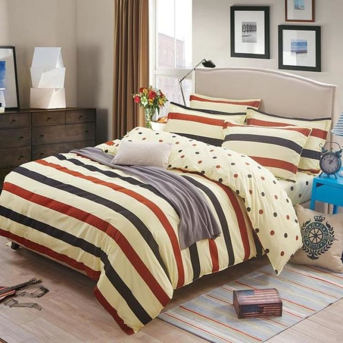 Bedding Set Korean Summer Style - nake marry / Full - Bedding Sets