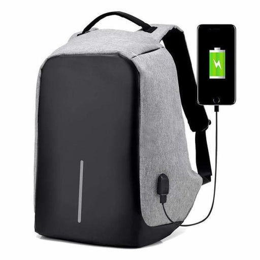Best Anti-Theft USB Charging Travel Backpack - Backpack