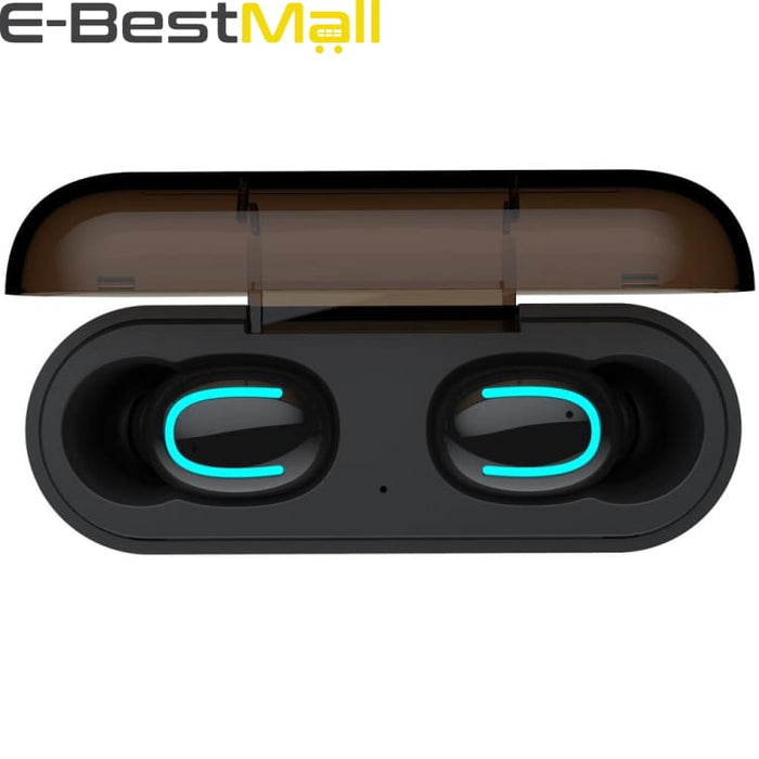 Bluetooth 5.0 Earphones TWS Wireless Headphones Earphone Handsfree Sports Earbuds Gaming Headset Phone PK HBQ - Headphone
