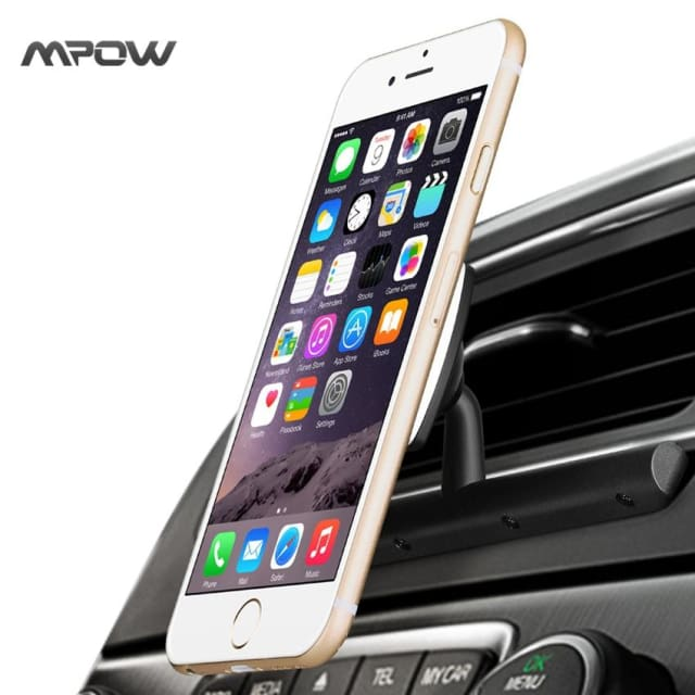 Car Phone Holder 360 Degree Black - Holder & Stand