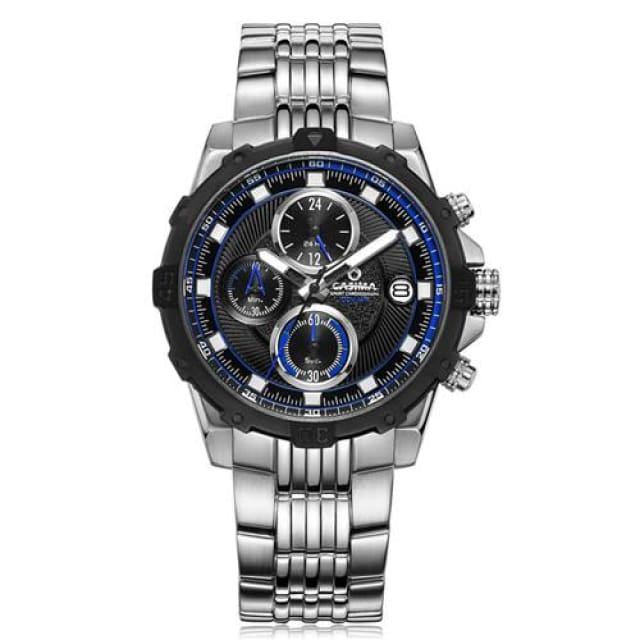 CASIMA - Sport Luxury watches for mens casual charm chronograph quartz waterproof 100m - ST 8306 S75B - Quartz & Sport