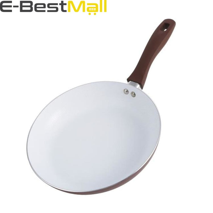 Ceramic Frying Pan 26cm Non-stick With/Without Glass Lid - Without lid - Pans