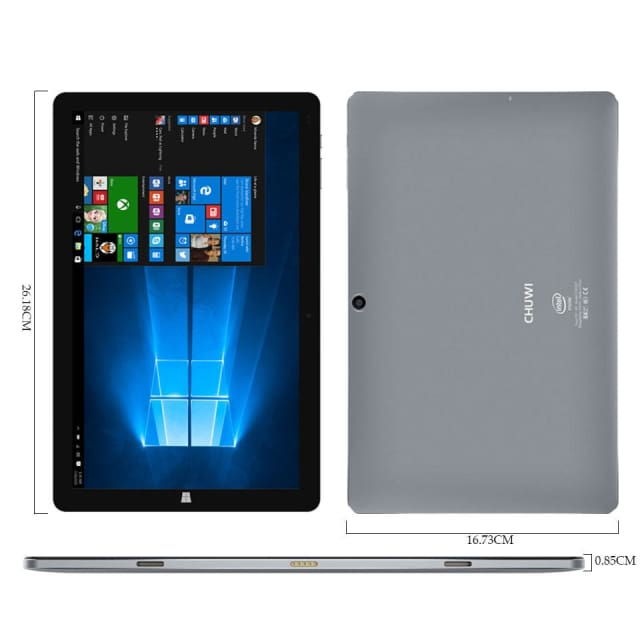 Chuwi Hi10 Pro Tablet PC Intel Atom Z8350 Quad Core 4GB RAM 64GB ROM Windows 10 Android 5.1 Dual OS 10.1 Inch - 2 in 1 Tablets