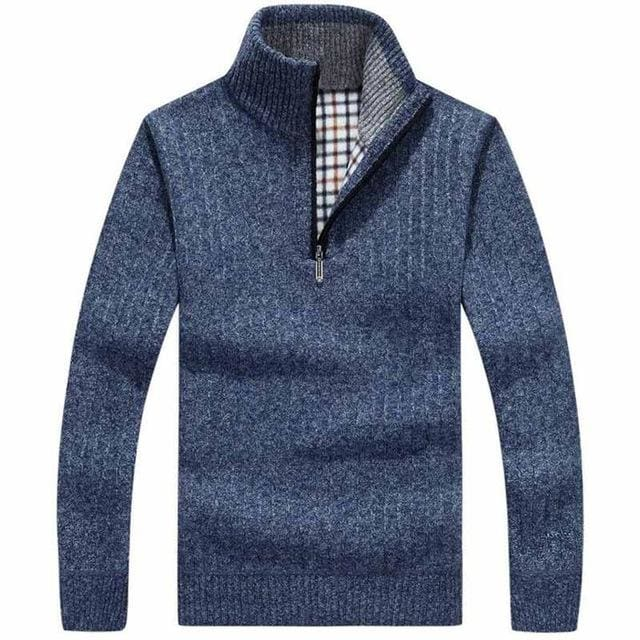 Classic Mens Pullovers - Blue / M