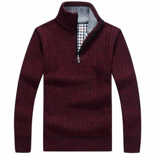 Classic Mens Pullovers - Red / M
