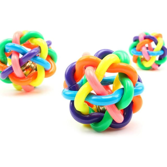 Colorful Toy Ball For Dog/ Cat - 3pcs - Dog Toy