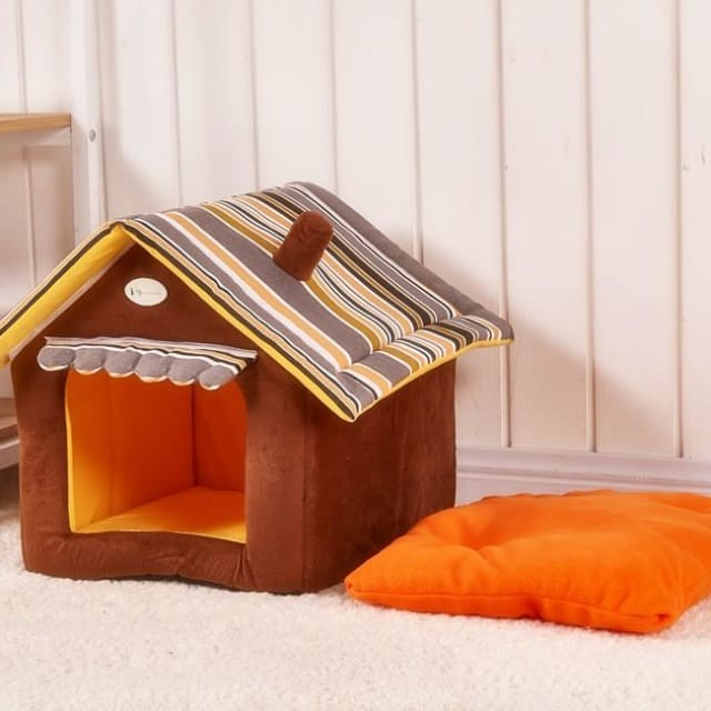 Cute Pet House For Puppy Dogs Cat - Pet House