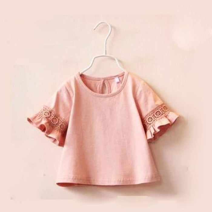 Cute T shirt For Girls - pink / 2T - Tees