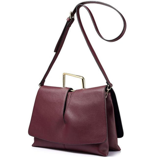 Design handbag for women envelope - evening clutch bags female solid - Deep Burgundy / China / (20cm<Max Length<30cm) - Handbags & Crossbody
