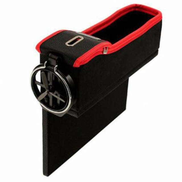 Drop Pocket PRO - Black red Left - Stowing Tidying