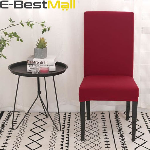 Extensible chair cover - Red / universal sizes - cover chair
