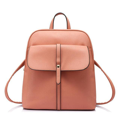 Fashion backpacks for teenage girls high quality - Coral / China / 17 Inches - Backpack