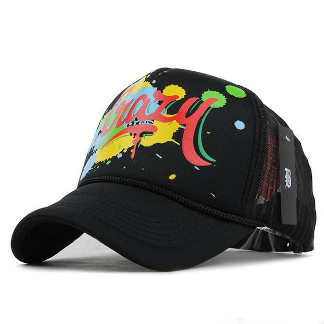 Fashion Cap For Women & Men - Graffiti black - Baseball Cap