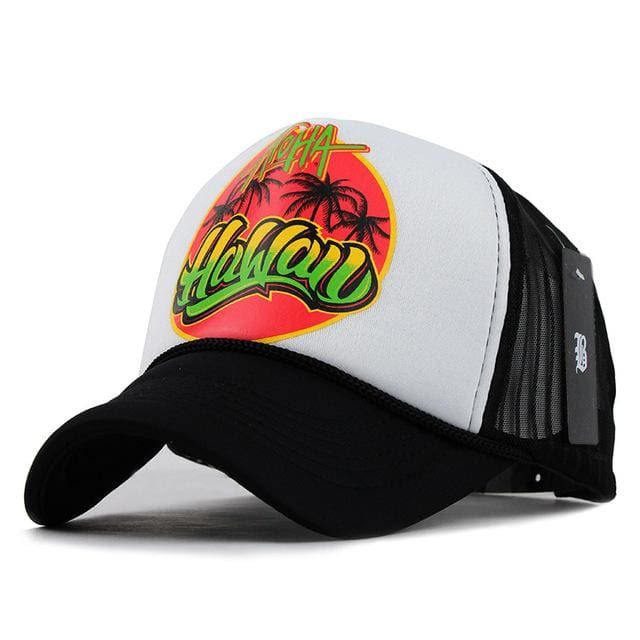 Fashion Cap For Women & Men - HAWA white - Baseball Cap