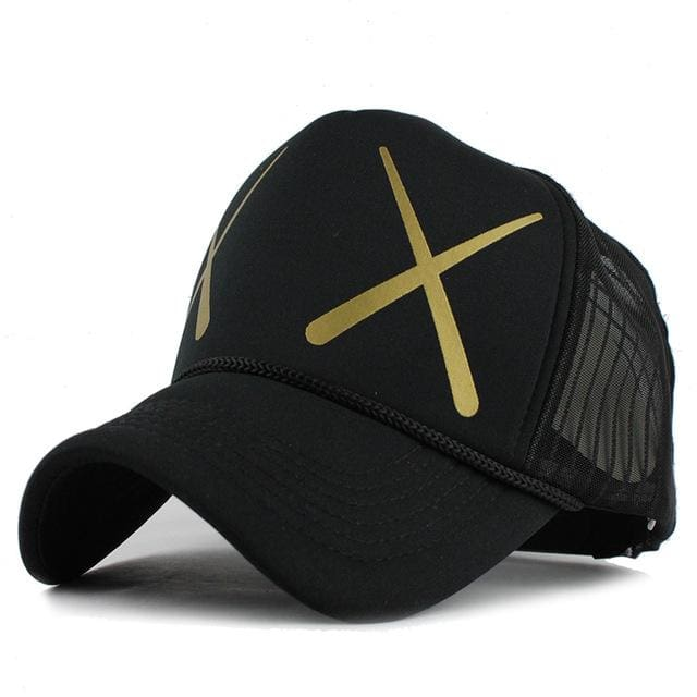 Fashion Cap For Women & Men - XX black - Baseball Cap