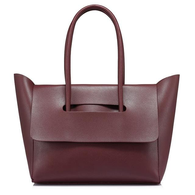 Fashion Handbag for Women 2018 - Claret / China / (30cm<Max Length<50cm) - handbag