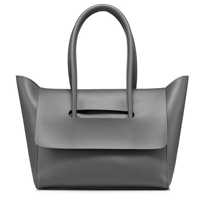 Fashion Handbag for Women 2018 - Gray / China / (30cm<Max Length<50cm) - handbag