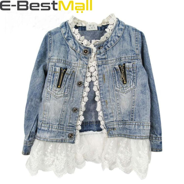 Fashion Jacket Cowboy For Girls - 2T - Jacket