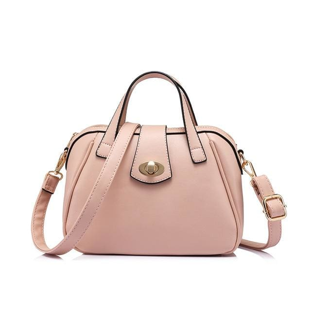Fashion luxury handbag 2018. women bag designer high quality. messenger bag female. shoulder bag Pink/Blue/Red - Pink / China / (20cm<Max
