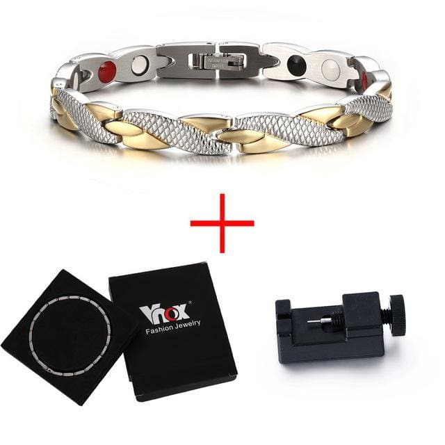 Fashion Magnetic Bracelet for Womens 2018 - Add box and tool - Bracelet