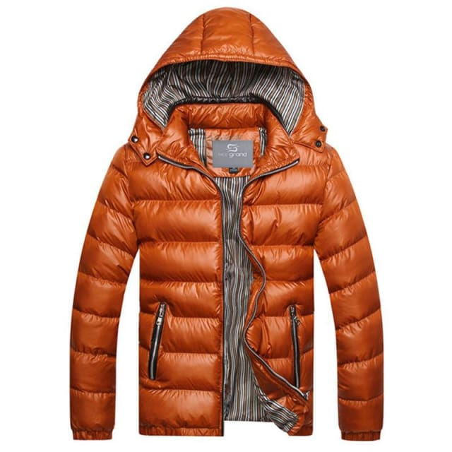 Fashion Mens Parkas Hooded - Parkas