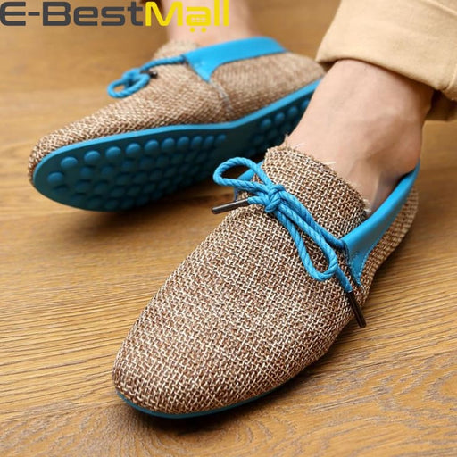 Fashion Mens Summer Loafer - Blue / 6.5 - Mens Casual Shoes