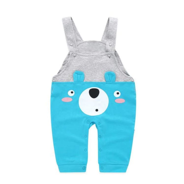 Fashion Suspender Baby Pants - kzy03 blue / 6M - Pants