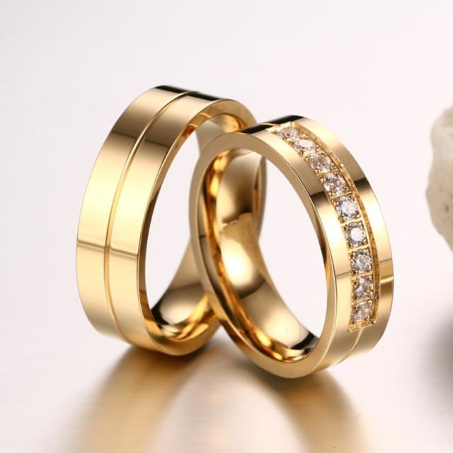Fashion Wedding Rings for Womens / Mens Couple Promise 2018 - Promise Ring