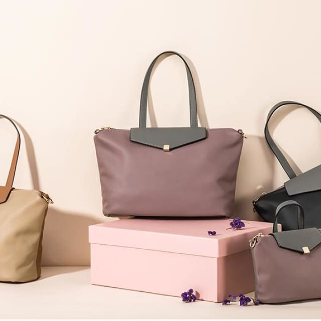 Fashion women bag 2018. female shoulder bag with large capacity. ladies messenger bags high quality PU Black/Purple/Apricot - Shoulder &