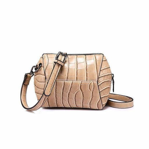 Fashion women crossbody bag 2018 female high quality patchwork shoulder messenger bag Red/Green/Brown/Nude Pink - Nude Pink / China -