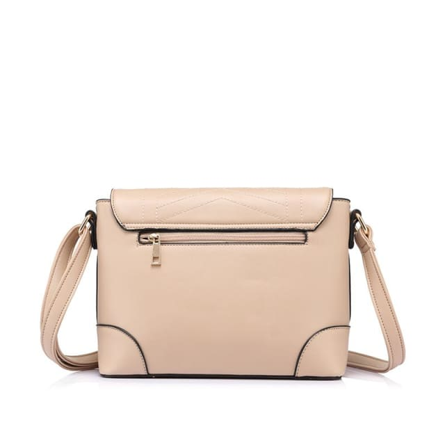 Fashion women messenger bags female small crossbody shoulder bags high quality solid artificial leather handbag 2018 - Shoulder & Crossbody