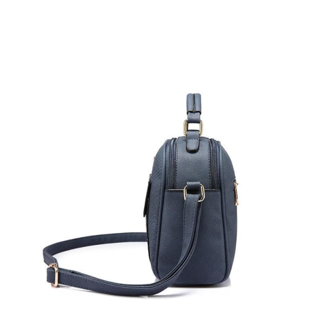 Fashion women shoulder bag 2018 female crossbody bag high quality ladies handbag flap with thread - Shoulder Bags