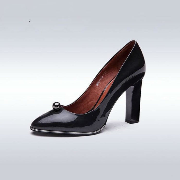 Fashion Womens Pumps shoes - Black / 5 - Womens Pump