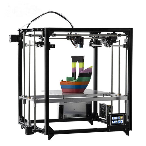 Flsun 3D Printer Double Extruder Version Large Printing Size 260*260*350mm Auto Leveling Heated Bed Touch Screen Wifi Moduel - 3D Printers